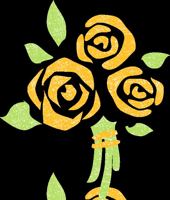 黄色バライラスト